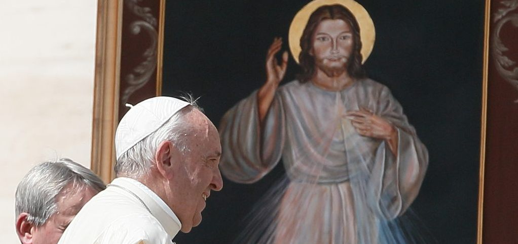 Divine Mercy Pope Francis